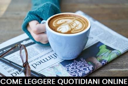Leggere quotidiani online